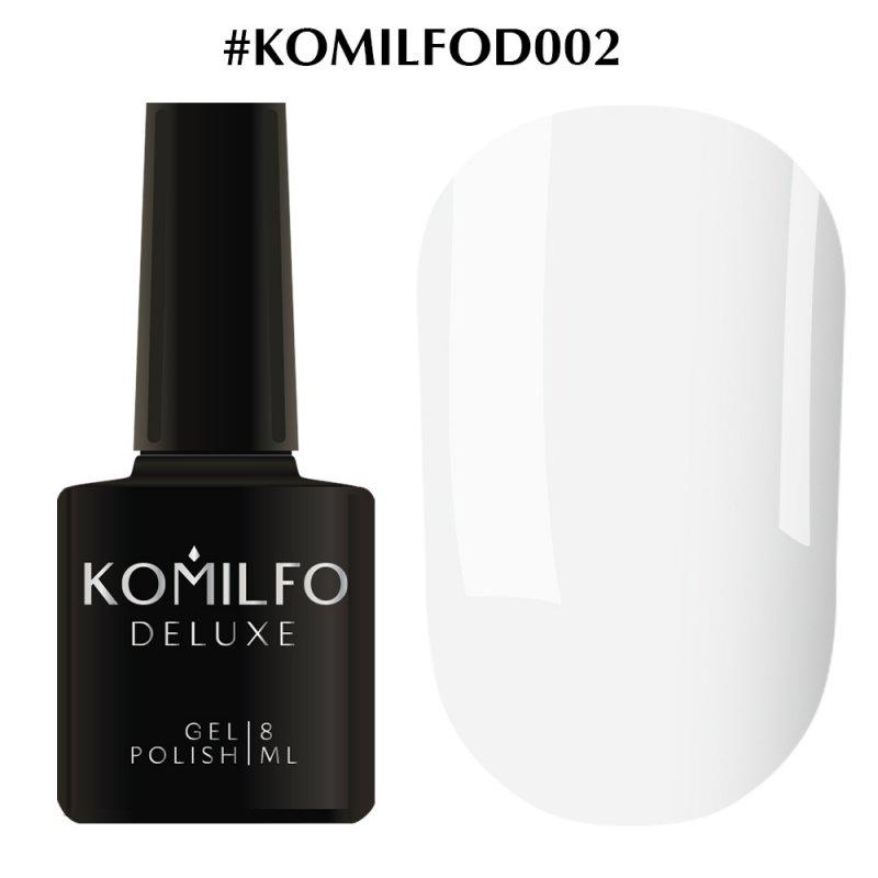 Gel Polish Komilfo Deluxe Series D002 8 Ml X 10 10 Units