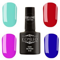 Deluxe Series Color Gel Polish Komilfo