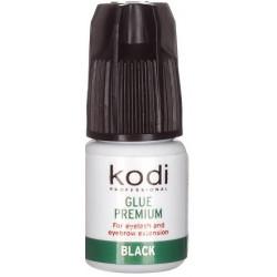 Glue for eyebrows and eyelashes premiun black, 3 g. Kodi Professional