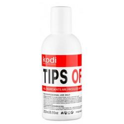 Tips off 250ml. (Gel polish and artificial nails removing liquid) Kodi Professional