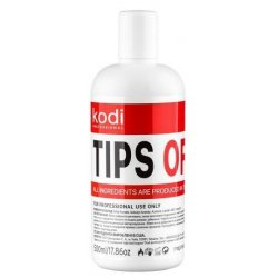 Tips off 500 ml. (Gel polish and artificial nails removing liquid) Kodi Professional